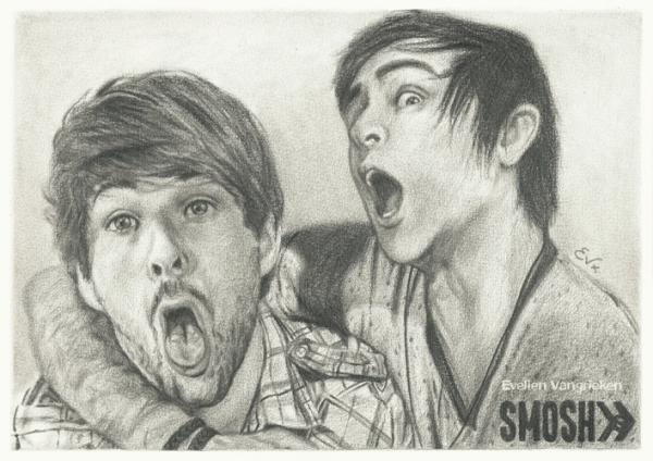 Anthony Padilla, Ian Hecox, Smosh by 1DBeatle